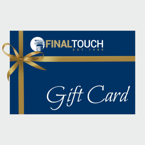 Final Touch Gift Card for etiquette and social behavior training