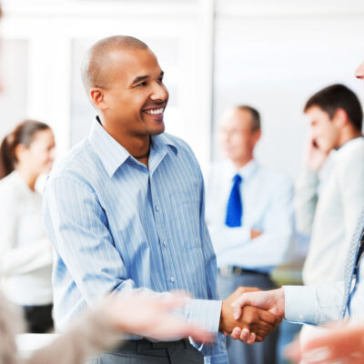 How to meet, greet, and engage in small talk.