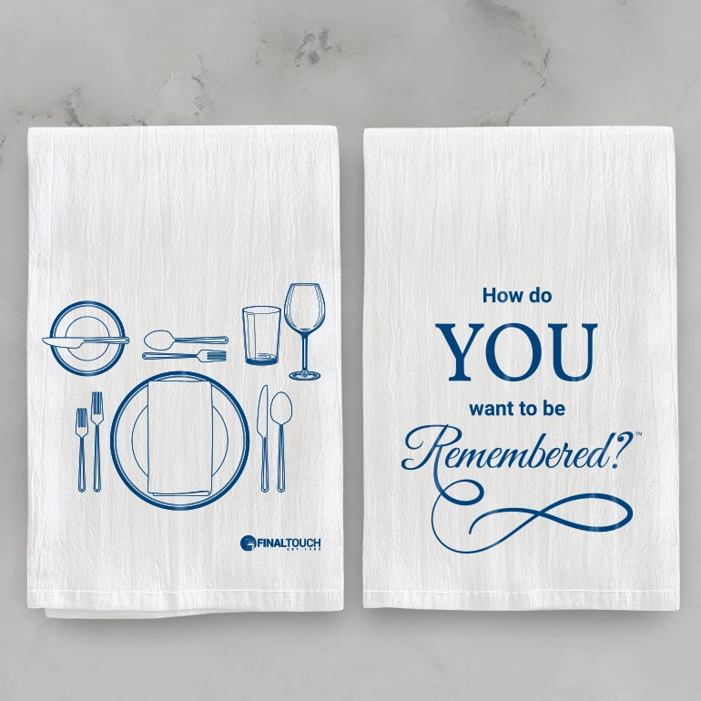 ONE OF A KIND KITCHEN TOWELS