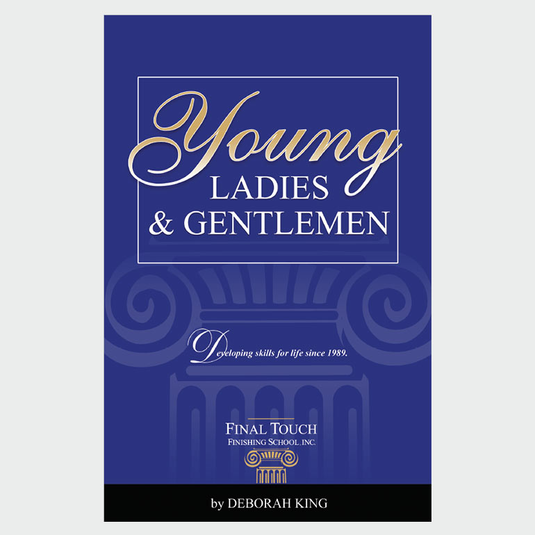 Young Ladies & Gentlemen booklet by Final Touch, etiquette for children